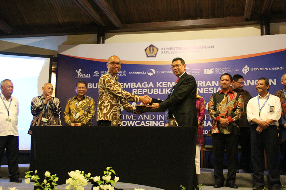 Memorandum of Understanding Signing on Project Financing